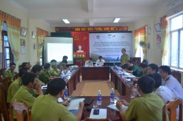 Strengthening coordination measures in the management and protection of World Heritage national park forest PN - KB area bordering Vietnam - Laos in t